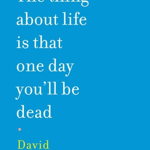cover-david-shields-the-thing-about-life-is-that-one-day-youll-be-dead-book