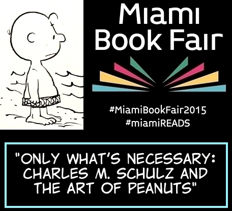 miami-book-fair-peanuts-art-book-chip-kidd
