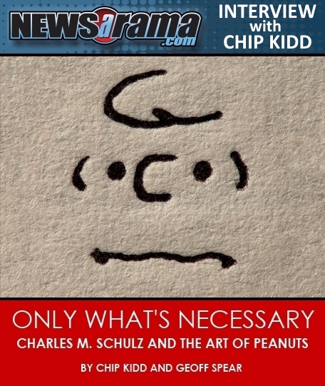 newsarama-Only-Whats-Necessary-Charles-M-Schulz-and-the-Art-of-Peanuts-Book-Chip-Kidd