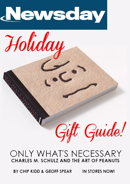 newsday-holiday-gift-guide-charles-m-schulz-peanuts-art-book-chip-kidd