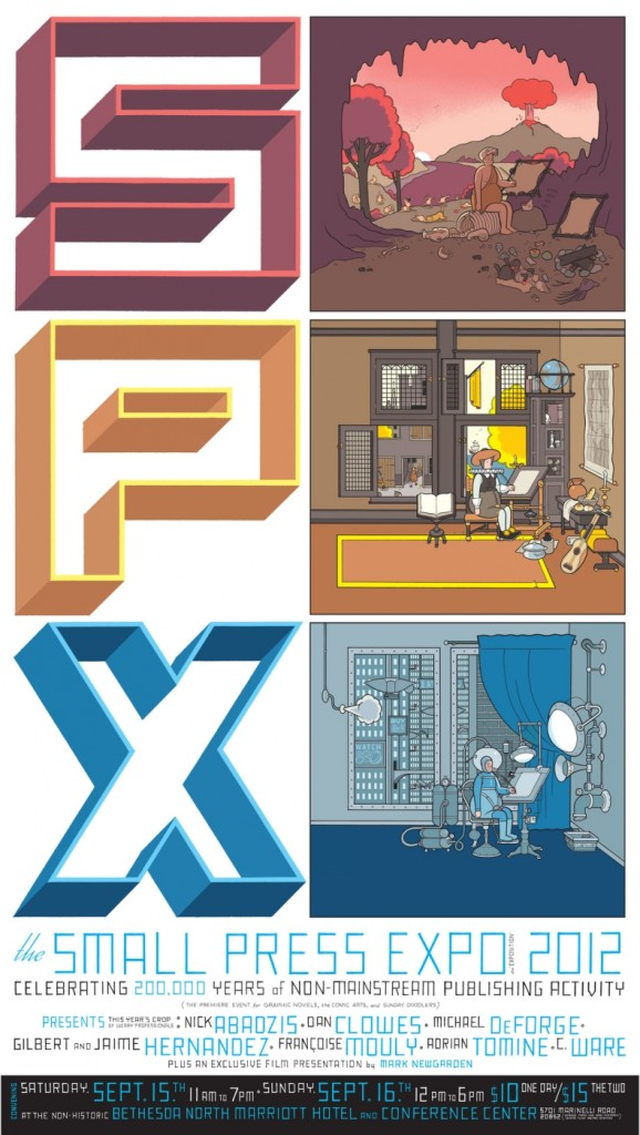 SPX-small-press-expo-poster-chris-ware