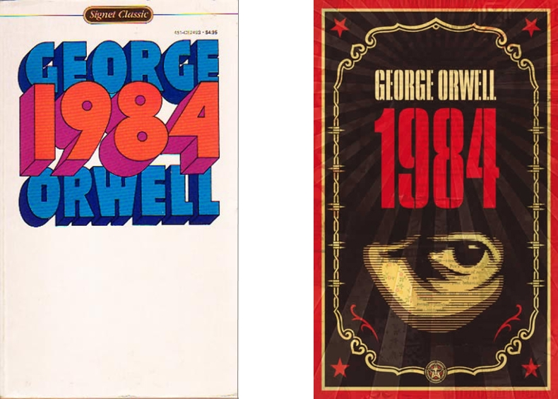 a book report on 1984 a novel by george orwell In george orwell's 1984, winston smith wrestles with oppression in oceania, a place where the party scrutinizes human actions with ever-watchful big brother de.