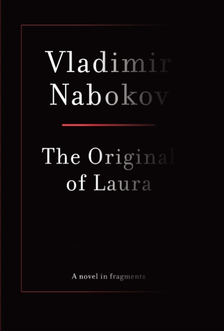 Vladimir Nabokov The Original of Laura Book Cover Chip Kidd