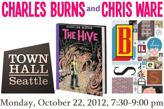 Charles Burns The Hive Chris Ware Building Stories by Pantheon Books