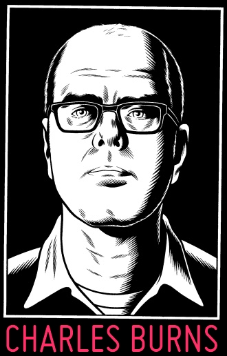 Charles Burns portrait The Hive Graphic Novel Book