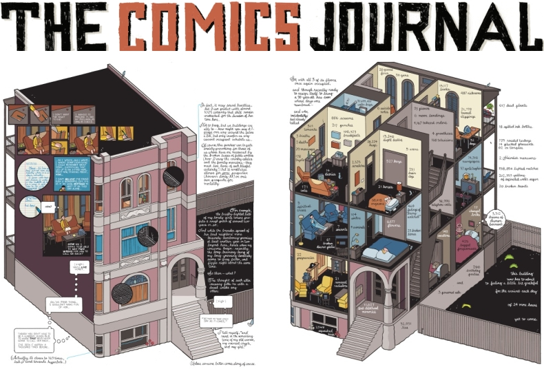 The Comics Journal Chris Ware Building Stories Graphic Novel Book
