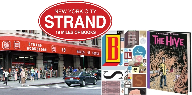 strand-bookstore-chris-ware-charles-burns-chip-kidd