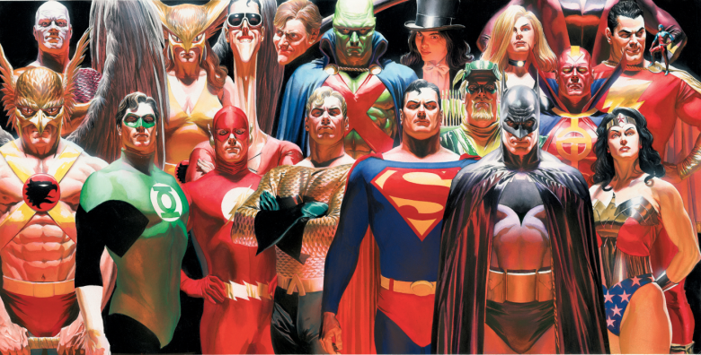 Norman Rockwell Museum Alex Ross Comic Book Art