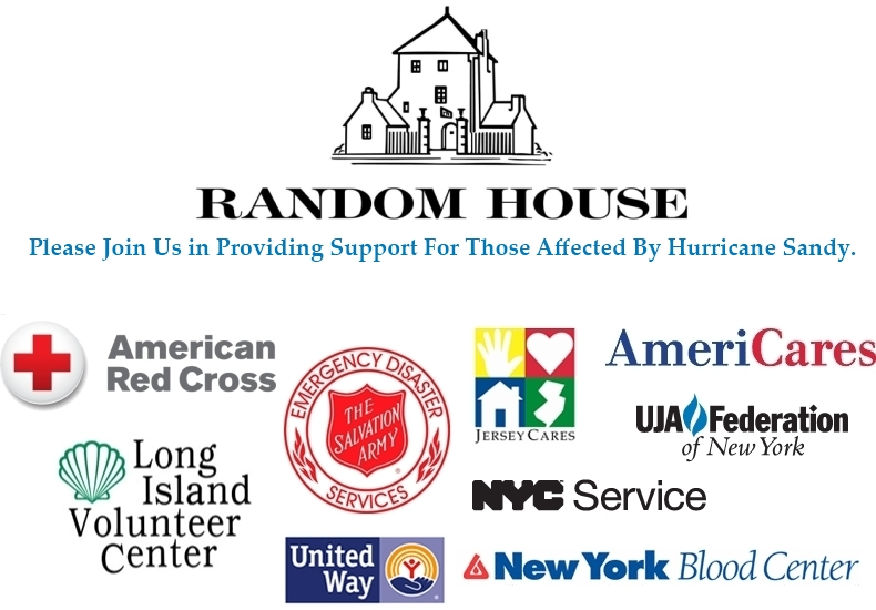 Random House Hurricane Sandy Relief Aid