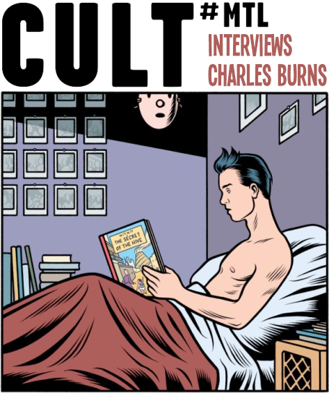 Charles Burns Interview THE HIVE Graphic Novel Book Review