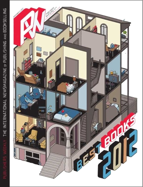Publishing Weekly Magazine Cover Chris Ware Building Stories Book