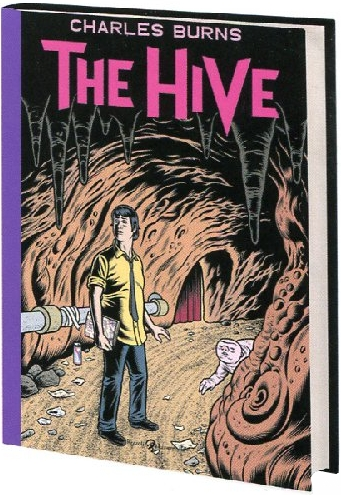 Charles Burns THE HIVE Graphic Novel Book Cover Pantheon