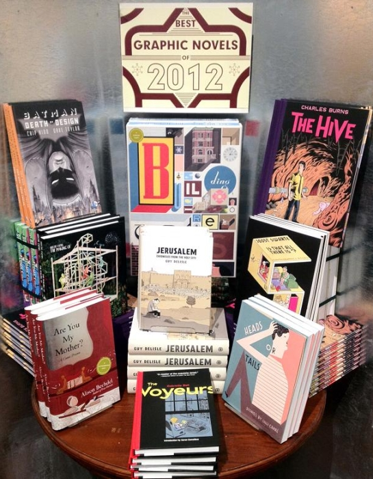 McNally Jackson Bookstore NYC NY Chris Ware Chip Kidd Charles Burns