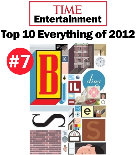 Time Magazine Top 10 Everything of 2012 Chris Ware Building Stories Book