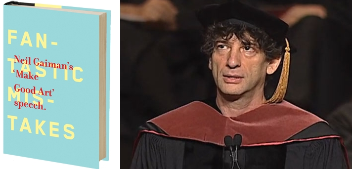Neil Gaiman Make Good Art Speech Book Chip Kidd