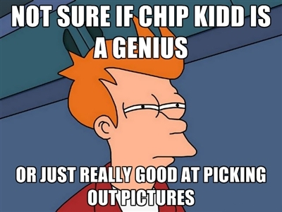 Futurama Fry Meme Chip Kidd Book Covers