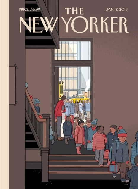 THE NEW YORKER Magazine Chris Ware Cover Art