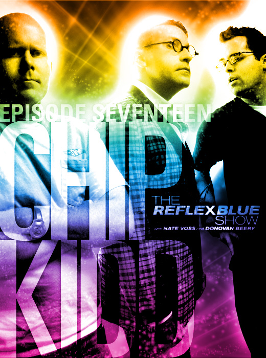 Chip Kidd Interview Book Cover Design Reflex Blue Podcast