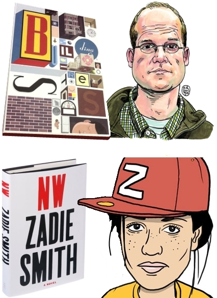 Zadie Smith NW Chris Ware BUILDING STORIES Graphic Novel Books