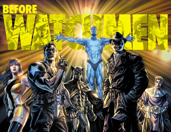 BEFORE THE WATCHMEN Chip Kidd Covers DC Comics