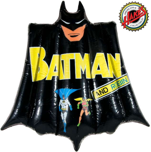 Hake's Auction Chip Kidd Collection Vintage Batman Toys