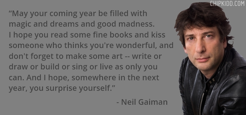 Neil Gaiman Book Author Quote