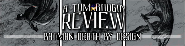 Book Review BATMAN DEATH BY DESIGN DC Comics Chip Kidd