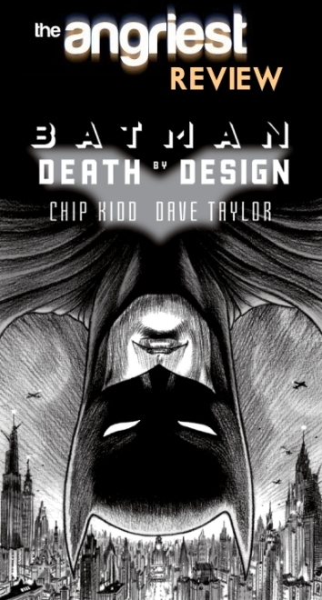 Batman Death By Design DC Comics Chip Kidd Book Cover