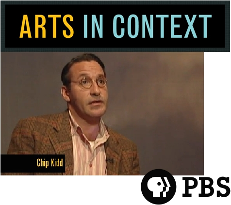 Chip Kidd Design PBS TV Arts in Context Interview