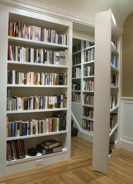 Secret Hidden Roon Bookcase Book Shelf