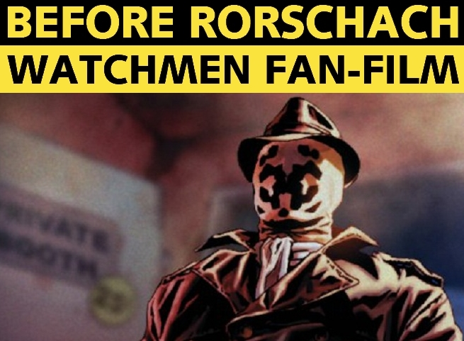 Before Watchmen Rorschach Graphic Novel Fan Film Movie