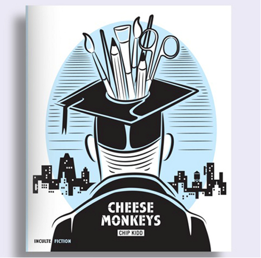 Chip Kidd's THE CHEESE MONKEYS Book French Editions Inculte