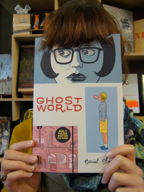 Ghost World Dan Daniel Clowes Graphic Novel Book Art