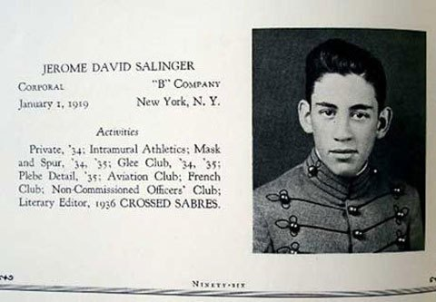 J D Salinger The Catcher in the Rye Book Author Writer