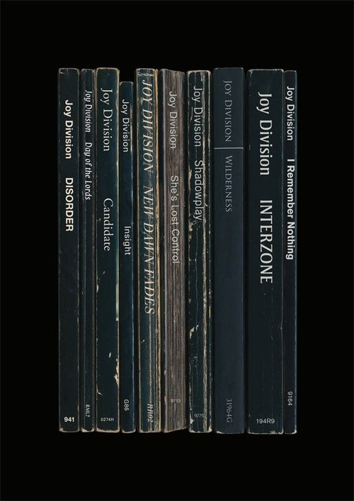 Joy Division Record Album Book Covers 1