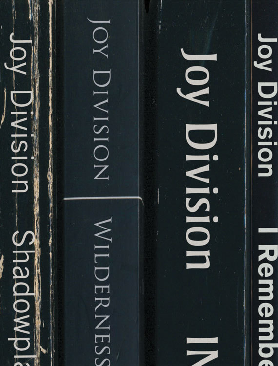 Joy Division Record Album Book Covers 2