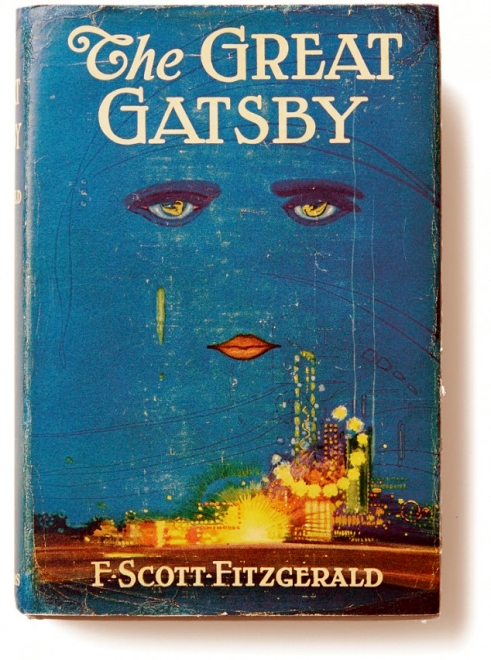 The Great Gatsby First Edition Book Cover F Scott Fitzgerald