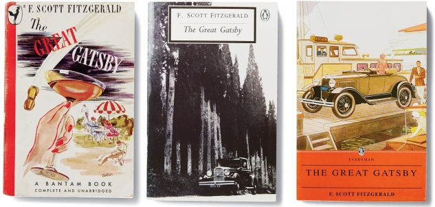 The Great Gatsby Book Covers