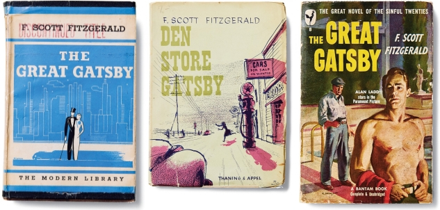 The Great Gatsby Book Jackets
