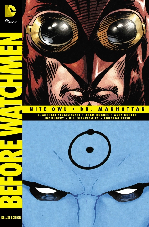 BEFORE WATCHMEN Deluxe Edition DC Comics Book
