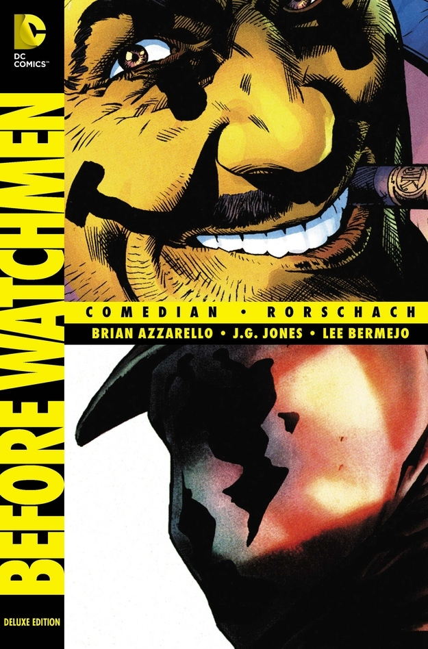 BEFORE WATCHMEN Deluxe Edition Graphic Novel Book