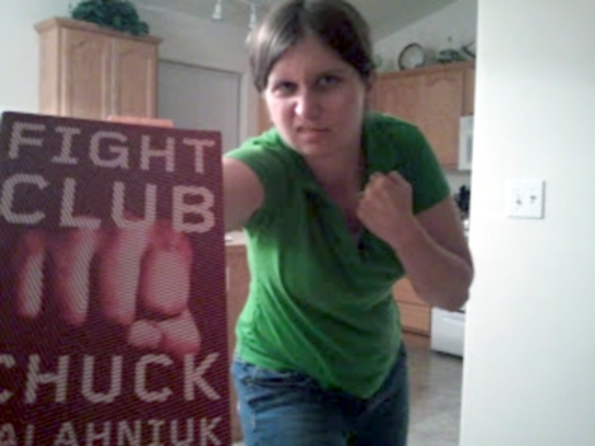 Fight Club Chuck Palahniuk Book Cover Design