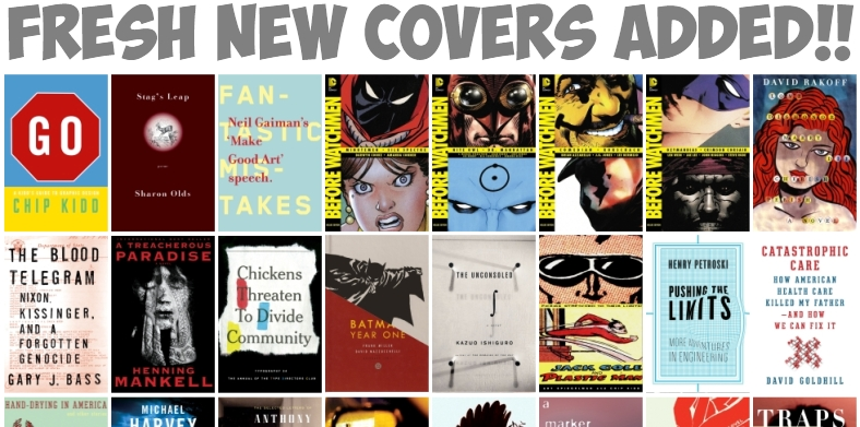 Book Covers designed by Chip Kidd Jacket Designer