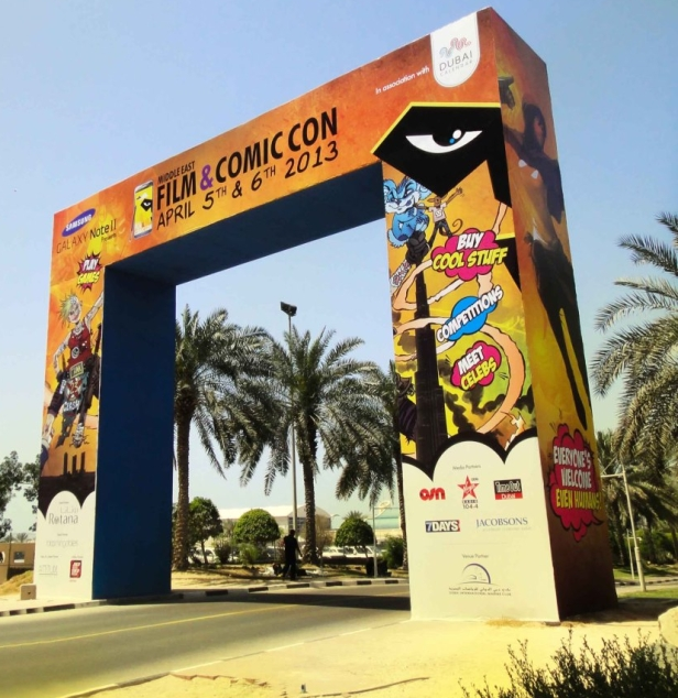 MEFCC 2013 Middle East Film and Comic Con