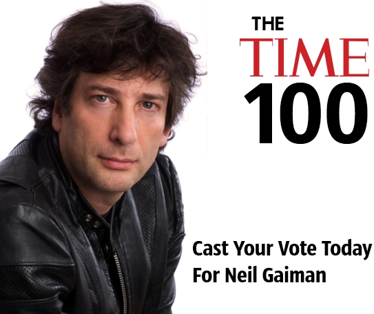 Neil Gaiman The TIME 100 Magazine Poll