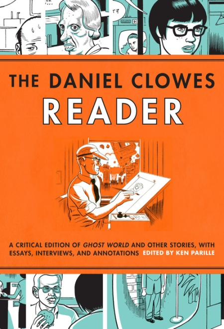 The Dan Clowes Reader Graphic Novel Book Cover