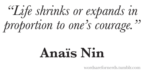 Anais Nin Quote Book Author Writer