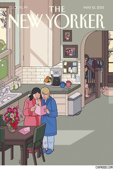 Chris Ware THE NEW YORKER MAGAZINE Mother's Day Cover 2013