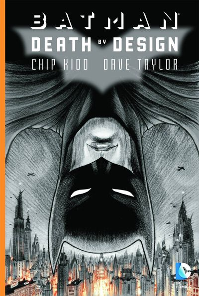 DC Comics BATMAN DEATH BY DESIGN Trade Paperback Book Cover Chip Kidd