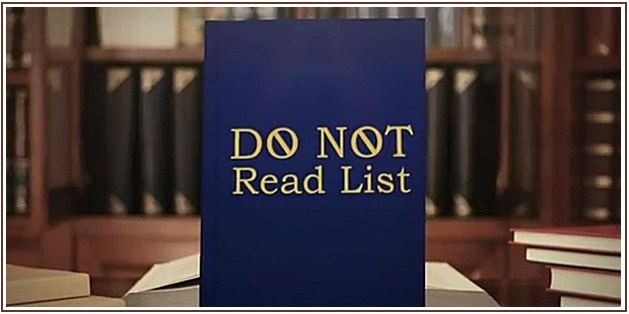 Jimmy Fallon DO NOT READ Book List for Summer 2013